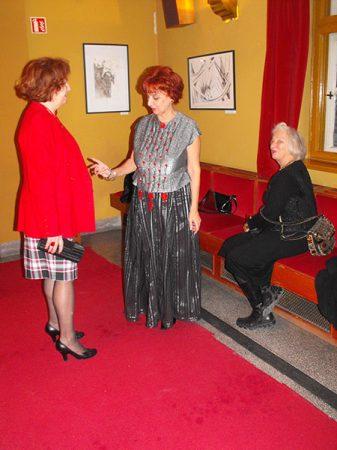 Halmos Klára kiállítása a kaposvári Csiky Gergely Színházban