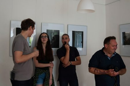 Malgorzata Chomicz grafikusművész kiállítása